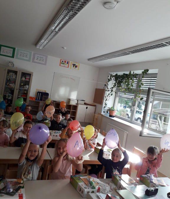 1. šolski dan drugošolcev